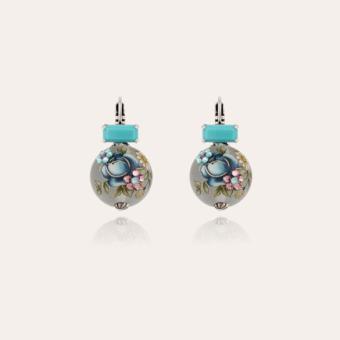 Decalco earrings silver