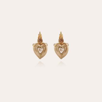Donguette earrings gold