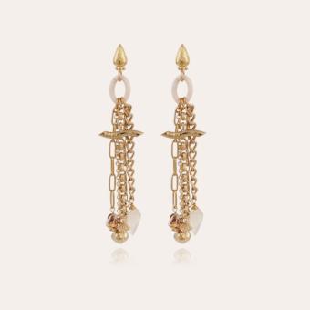 Enchainee Bis earrings gold