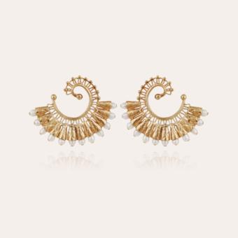 Epique Bis earrings gold