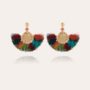 Gaia earrings gold
