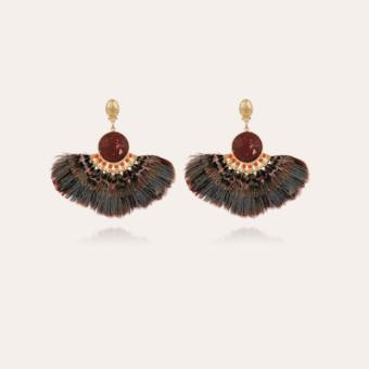 Serti Gaia earrings gold