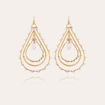 Orphee earrings gold