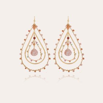 Orphee earrings gold