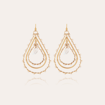 Orphee earrings small size gold