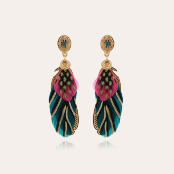 Saona earrings small size gold