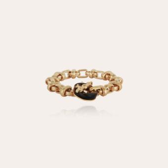 Adrian bracelet acetate gold - Tortoise