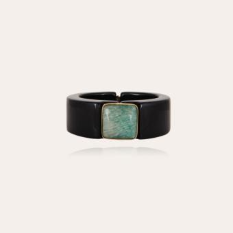 Arty Bis bracelet acetate gold - Black