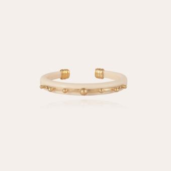Bagheera bracelet gold - Ivory