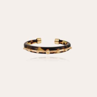 Bagheera bracelet acetate gold - Tortoise