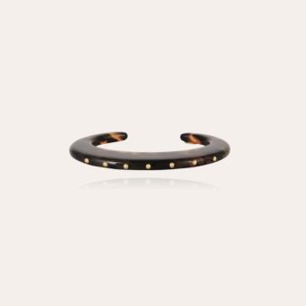 Baptiste bracelet acetate gold - Tortoise