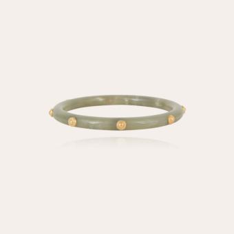 Caftan Bis bracelet acetate gold - Verdigris