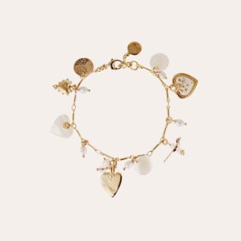 Foglia bracelet gold