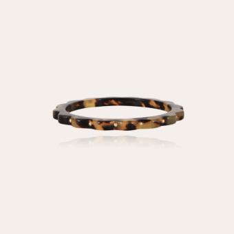Froufrou bracelet acetate gold - Tortoise