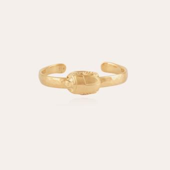 Scarabee bangle bracelet gold