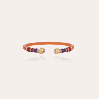 Sari Bis bracelet acetate gold - Amber