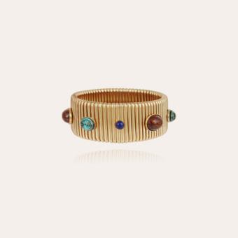 Strada bracelet large size gold