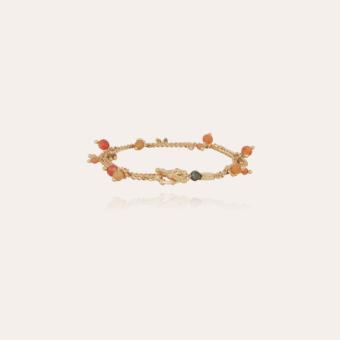 Tangerine Serti double bracelet gold
