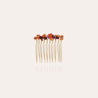 Calliope Serti hair jewelry small size gold
