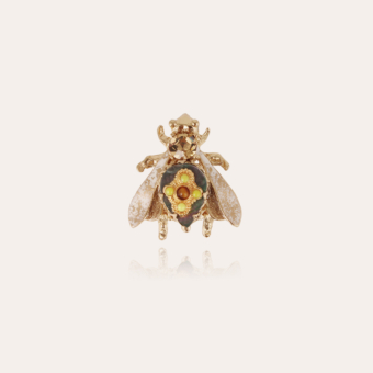 Mouche brooch gold - Exclusive piece (4 pieces)