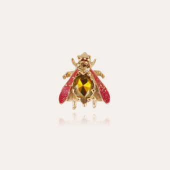 Mouche brooch gold - Exclusive piece (2 pieces)