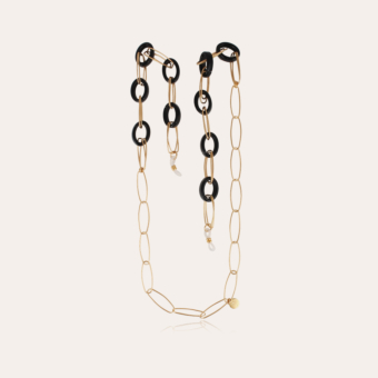 Escale necklace Glasses Chain small size acetate gold