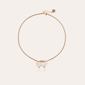 Aventura necklace gold