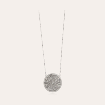 Diva necklace small size silver