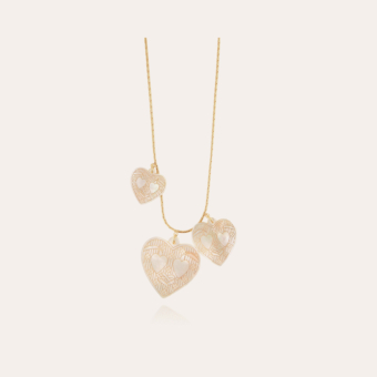 Gilot necklace mother-of-pearl large size gold
