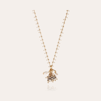 Gipsette necklace gold
