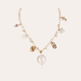 Lovely necklace gold - Exclusive piece (3 pieces)