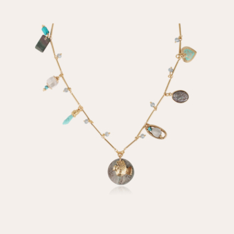 Lovely necklace gold - Exclusive piece (4 pieces)