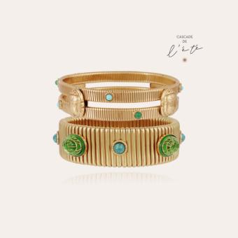 Summer bracelets - Strada & Scaramouche gold