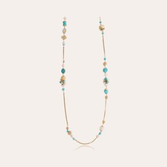 Victorien long necklace gold