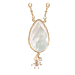 Serti gold - White mother-of-pearl