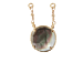 Serti gold - Grey mother-of-pearl