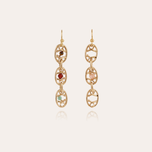 Alegria earrings small size gold
