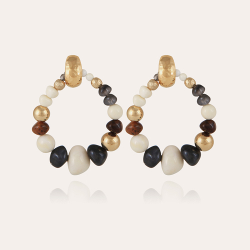 Biba Bis earrings acetate gold