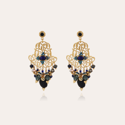 Charlie earrings small size gold