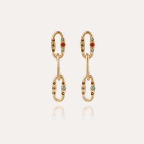 Gabriel earrings gold