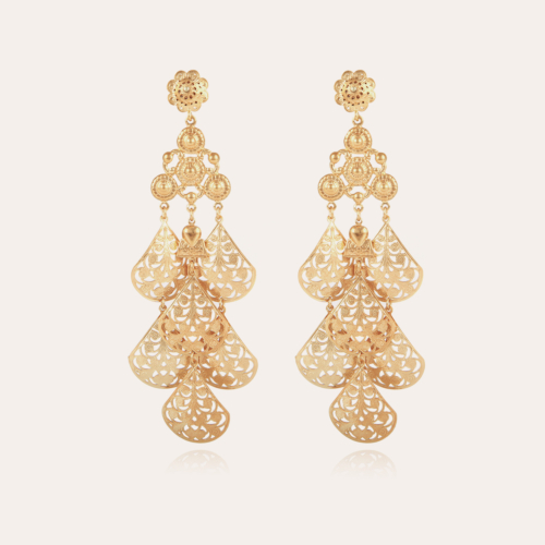Orferia earrings large size gold