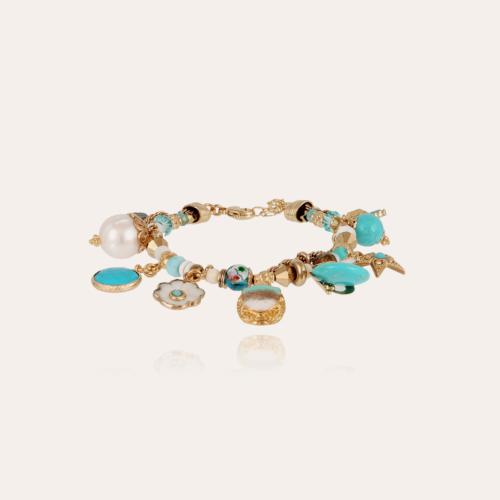 Comedia bracelet gold