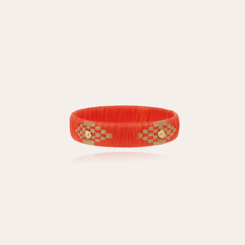 Rofia bracelet small size gold