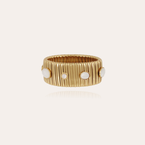 Strada Serti bracelet large size gold