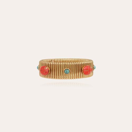 Strada Scaramouche bracelet middle size gold