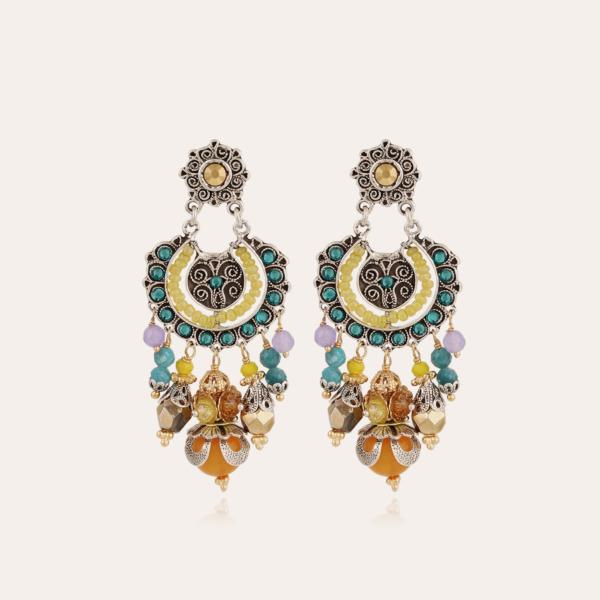 Aicha earrings small size silver