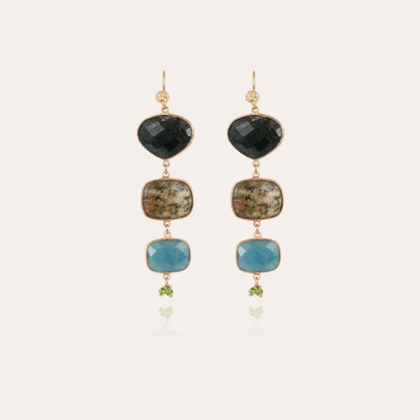 Silene earrings gold