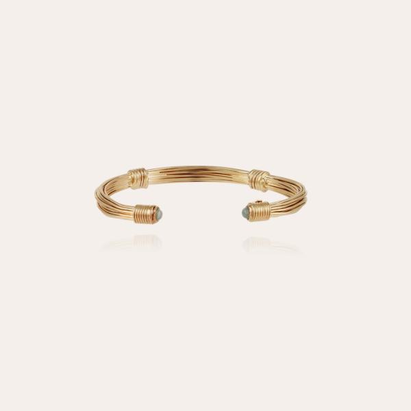 Ariane cabochons bracelet gold