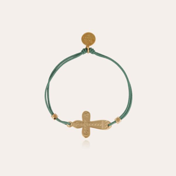 Cruz bracelet gold