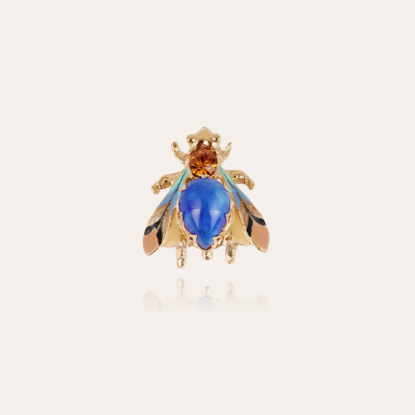 Mouche brooch gold - One-of-a-kind piece